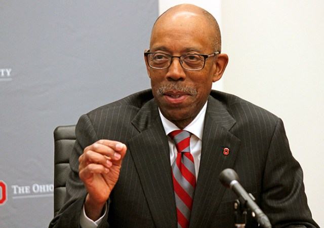 OSU President Michael Drake (photo via