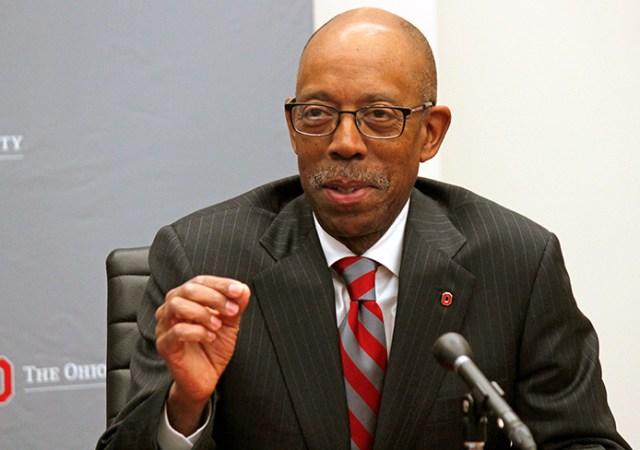 OSU President Michael Drake (photo via