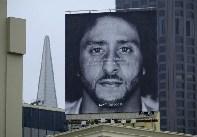 """1be7d64283fe """"Just Do It""""  Nike Stock Closes at an All-Time High in Aftermath of Colin  Kaepernick Ad Campaign"""