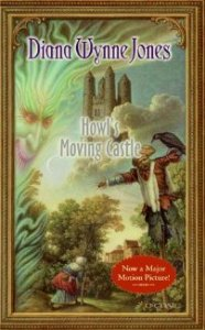 Howl's Moving Castle, Diana Wynne Jones, Book Cover