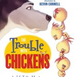 The Trouble With Chickens reads like an old time mystery, but with animals. Sort of like,Hercule Poirot, but with a German Shepherd and less refinement.