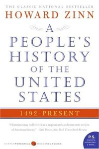 A People's History Of The United States, Howard Zinn, Book Cover