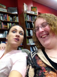 At The Book Signing