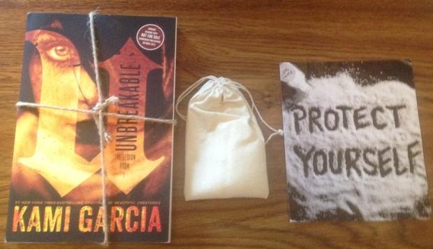 Unbreakable Kami Garcia Swag Pack