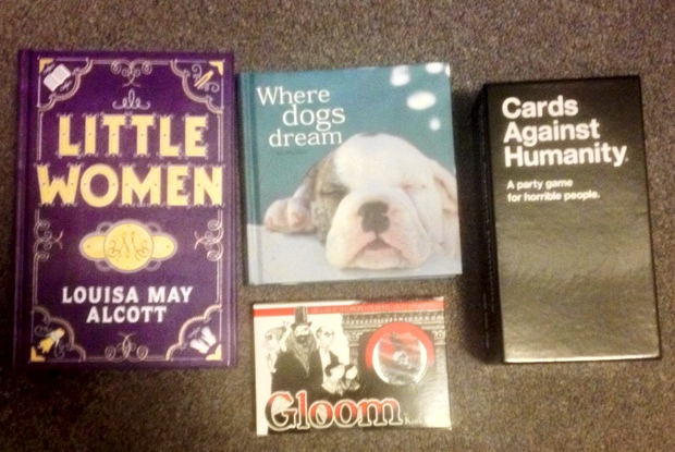 STS 42-12 Little Women Where Dogs Dream Gloom and Cards Against Humanity