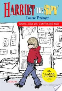 Retro Friday: Harriet The Spy by Louise Fitzhugh
