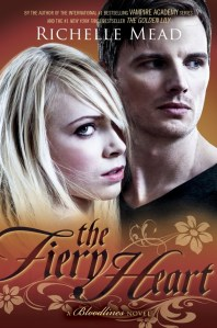 The Fiery Heart Richelle Mead Book Cover