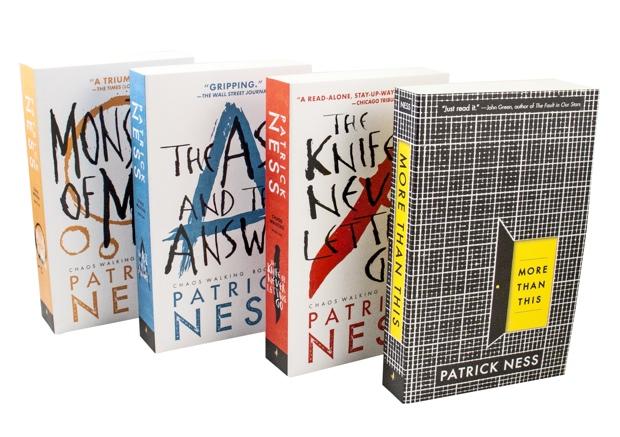 Patrick Ness paperbacks