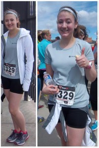 Before and After of a typical 5k