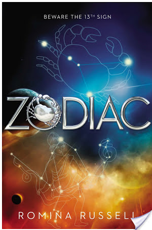 6 Questions With Romina Russell, Author Of ZODIAC + #Giveaway