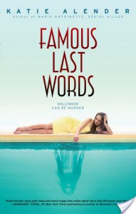 Allison: Famous Last Words | Katie Alender | Book Review