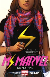 BasicallyMs. Marvel vol 1: No Normal by G. Willow Wilson has turned me into a Kamala Khan fangirl. She's so awesome!
