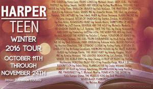 Harper Teen Winter 2016 Tour