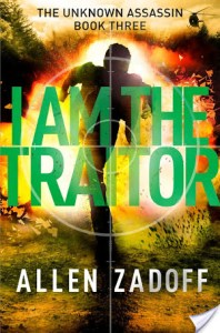 I Am The Traitor by Allen Zadoff | Book Review