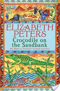 Crocodile On The Sandbank by Elizabeth Peters is a fun read. I look forward to solving more mysteries with the spunky Miss Amelia Peabody.