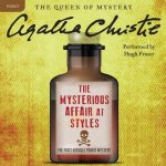 The Mysterious Affair At Styles by Agatha Christie is an audiobook that I actually listened to twice. Find out why by clicking here.