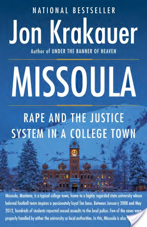 Missoula: Rape and the Justice System in a College Town by Jon Krakauer | Audiobook Review