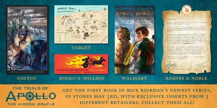 The Trials Of Apollo by Rick Riordan special editions