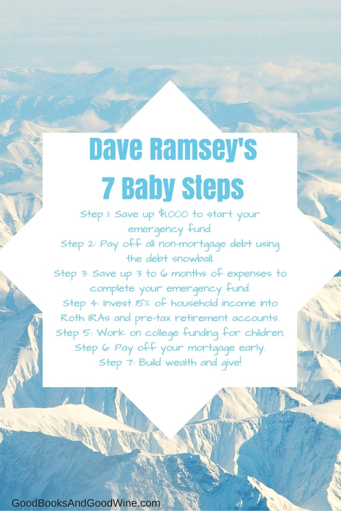The Total Money Makeover by Dave Ramsey contains 7 Baby Steps to achieve Financial Freedom. Overall, the steps actually make a lot of sense.