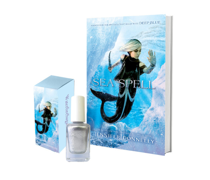 Sea Spell by Jennifer Donnelly and matching nail polish