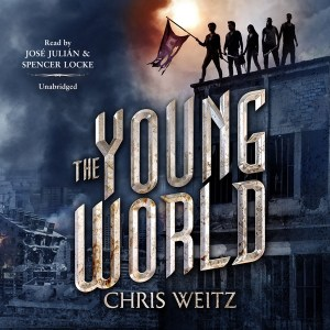 The Young World by Chris Weitz is about what happens after sickness wipes out the world's population of adults and children - leaving behind only teenagers.