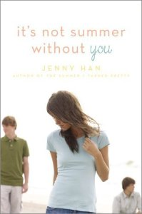 It's Not Summer Without You by Jenny Han is a single session perfect for your beach chair kind of book. The story draws you in immediately.