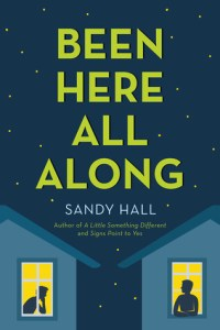 Been Here All Along by Sandy Hall is such a fun, adorable read. Hall's latest book takes on the song You Belong With Me by Taylor Swift and adapts it.