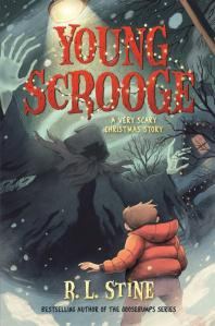 RL Stine's Young Scrooge adds a bit of a twist to Dickens' tale and adapts it for a younger audience.