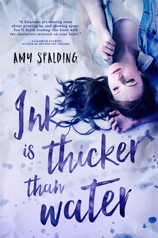 Ink Is Thicker Than Water by Amy Spalding | Book Review