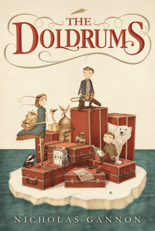 The Doldrums by Nicholas Gannon   Audiobook Review