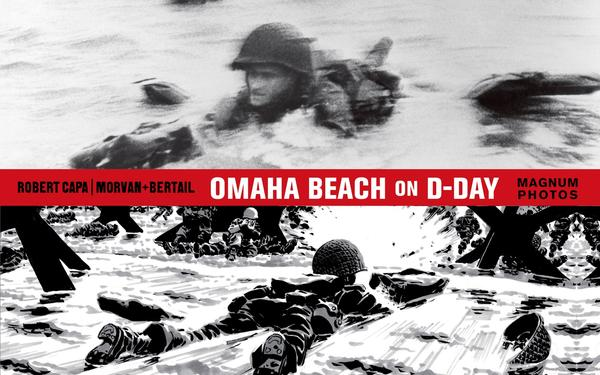 Omaha Beach On D-Day by Jean-David Morvan | Book Review