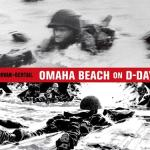 Omaha Beach On D-Day by Jean-David Morvan, Séverine Tréfouël, and illustrated by Dominque Bertail featuring photographs by Robert Capa seemed certain to be my kind of book.