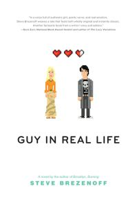 Guy In Real Life by Steve Brezenoff is a pretty fun, romantic contemporary young adult book with some pretty nerdy characters. Click for my review.