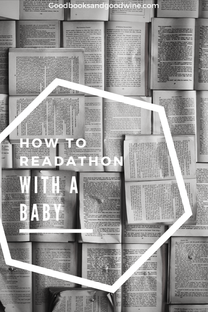 How To Readathon With A Baby: Tips For Participating In The Dewey Readathon while also keeping your child alive.