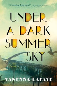 I think for sure Under A Dark Summer Sky by Vanessa Lafaye is an under the radar audiobook you need to read - especially those of you who like historical fiction about weather with intersectional elements.