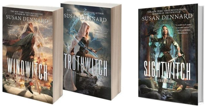 Catch up on the Truthwitch series and enter to win this contest.