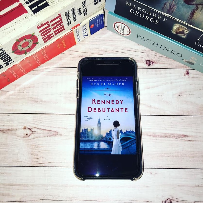 The Kennedy Debutante by Kerri Maher is the kind of book I want to read more of. I love a good historical fiction book.