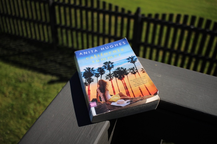 California Summer by Anita Hughes seemed like it would be the kind of book that would be perfect to read out on the deck and kick off summer.