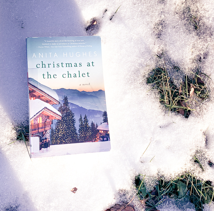 Well, this book is called Christmas At The Chalet but it actually takes place the week after Christmas. So, it's not like we have tree decorating or the lead up to the holidays or Santa.