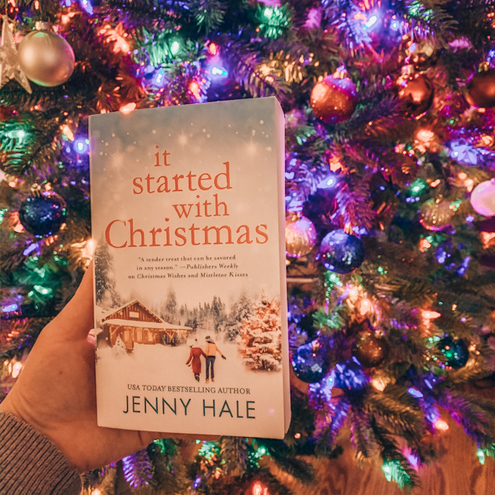 Some might callIt Started At Christmas saccharine. I call it balm for the work weary soul. You know what, sometimes I just want a book that allows me to take the load off and relax.