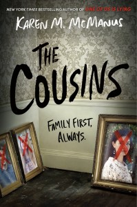 The Cousins by Karen M. McManus INSTANTLY appealed to me. After all, I had previously listened to two of McManus's previous books.