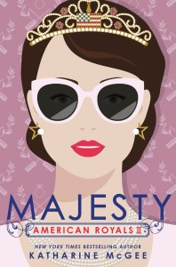 Majesty by Katherine McGee was EXACTLY what I needed.I got absorbed in the drama while being transported away from my real life.