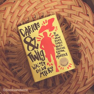 I think on the whole Darius & Twig is a quiet book and a wonderful character study.