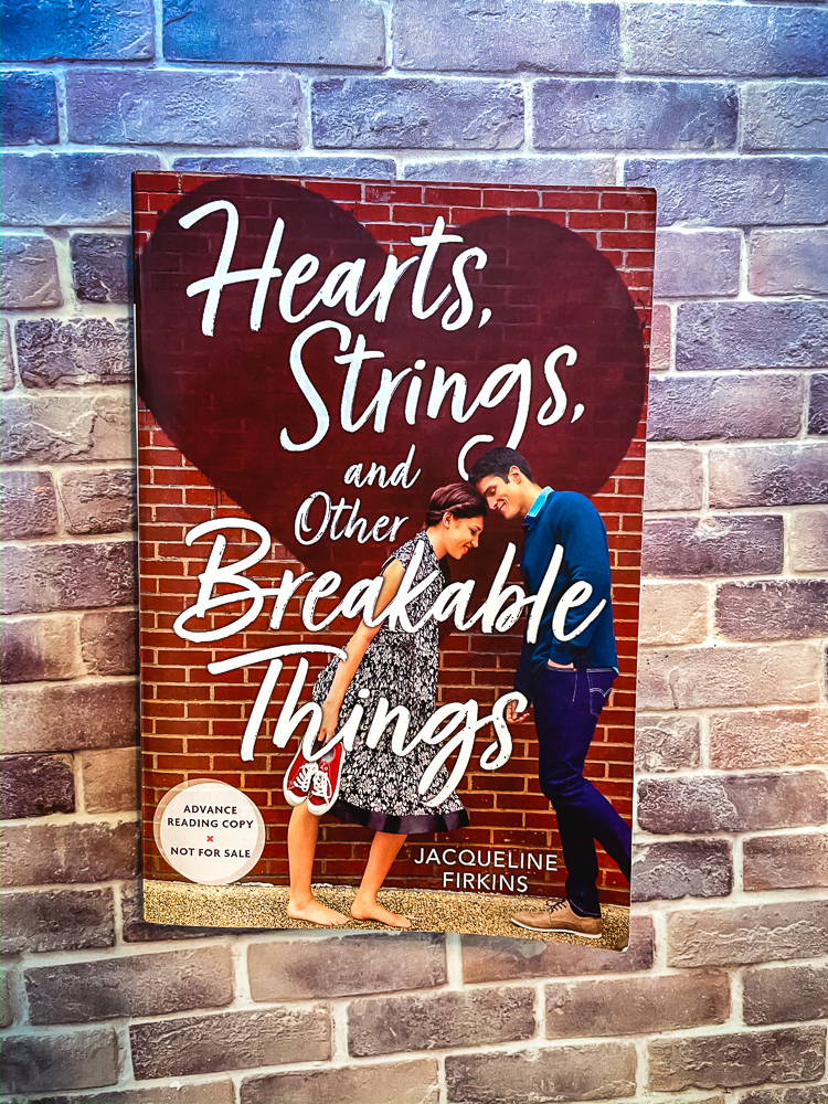 Hearts, Strings, and Other Breakable Things by Jacqueline Firkins   Book Review