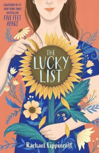 I am pleased to say that I really enjoyedThe Lucky List. It's a thoughtful contemporary debut about a girl who comes to terms with the fact that she is gay and learns to stop suppressing that side of her.