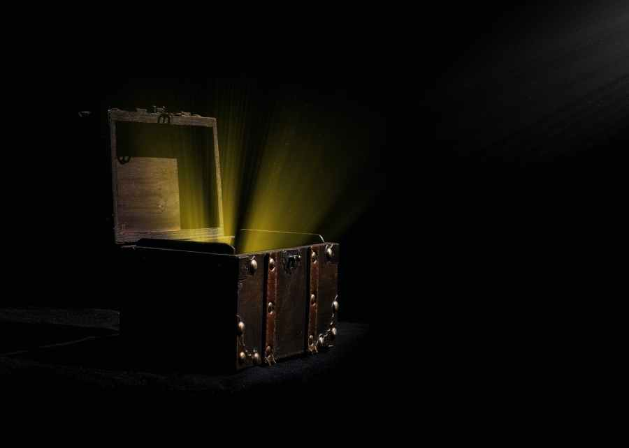 light inside chest box