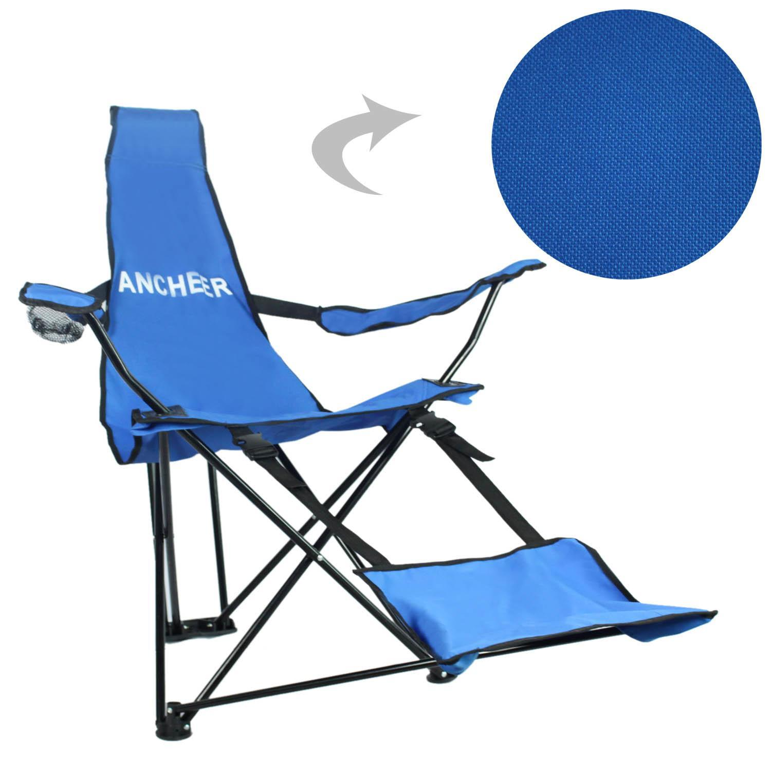 Portable Beach Chair Outdoor Portable Folding Beach Recliner Chair Tripod