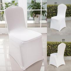 Chair Covers For Weddings Diy Adirondack Chairs Plans Cover 300x Universal Stretch Spandex Wedding Party 100 200 300 Pcs Set Flat Angle Supply Banquet Decoration