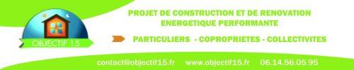 Objectif 15 - construction rénovation