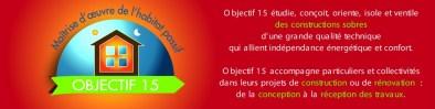 Bandeau Cartes de visite Site Internet Objectif